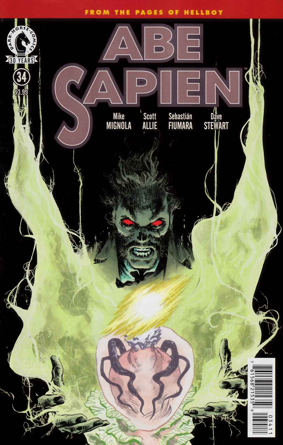Abe Sapien #34 [Dark Horse Comic] LARGE