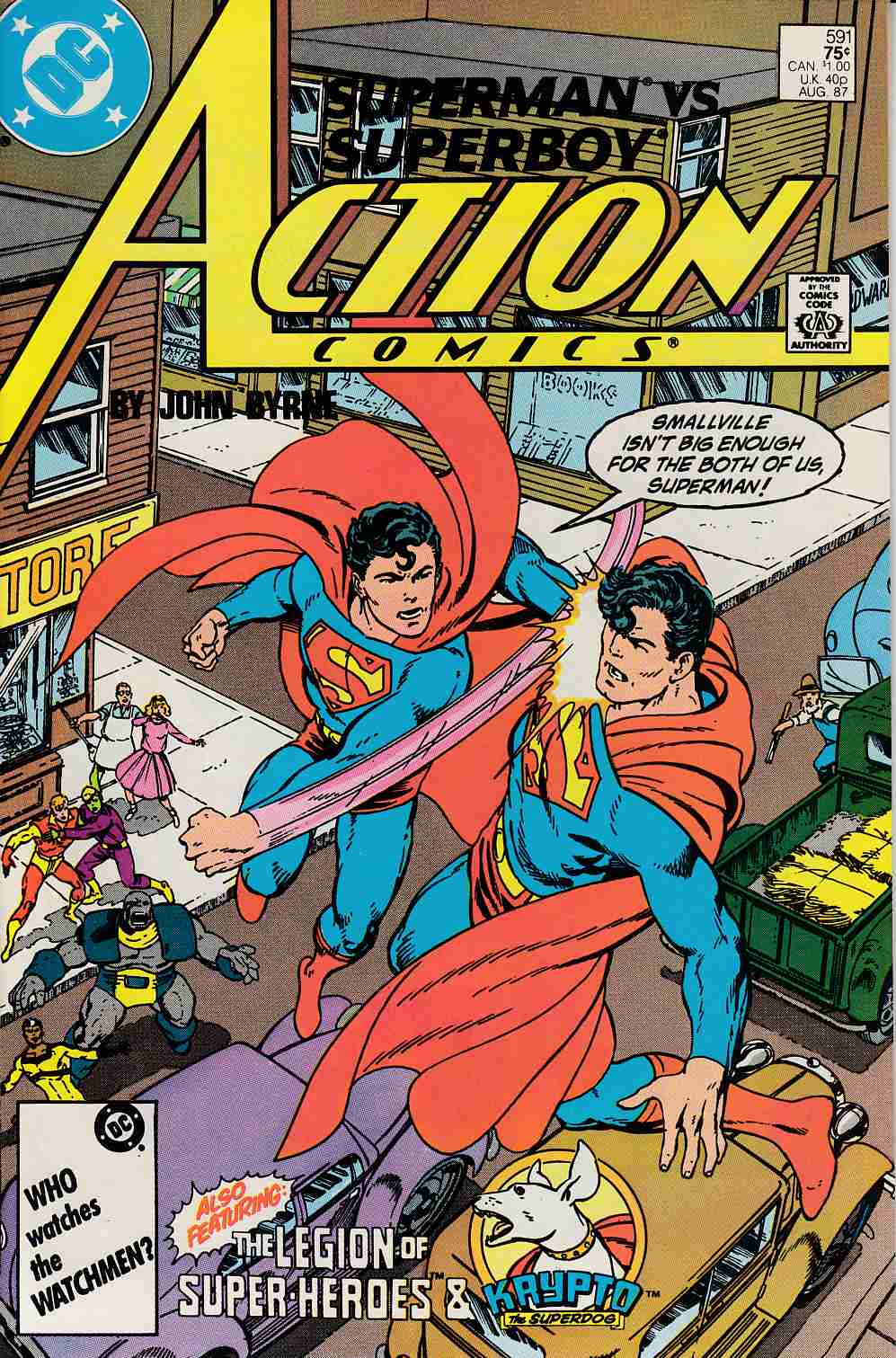 Action Comics #591 Near Mint (9.4) [DC Comic]