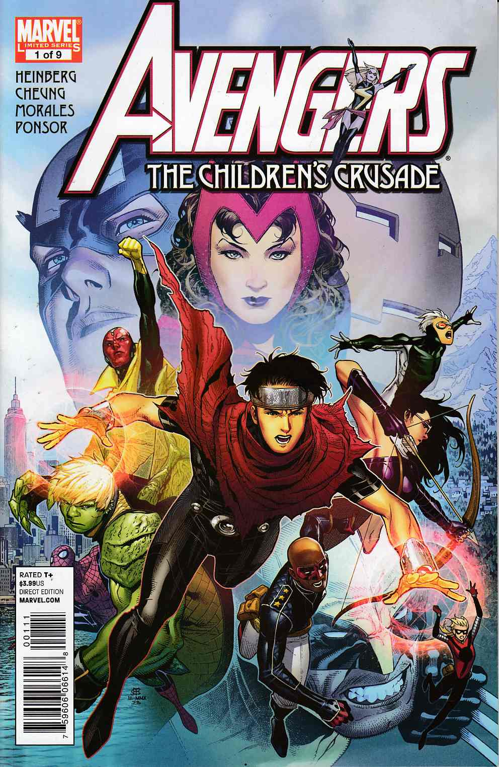 Avengers Childrens Crusade #1 Near Mint (9.4) [Marvel Comic] THUMBNAIL