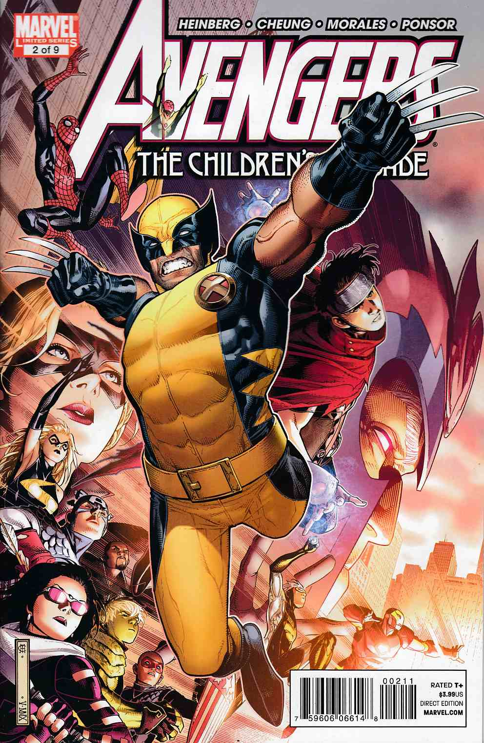 Avengers Childrens Crusade #2 Very Fine (8.0) [Marvel Comic] THUMBNAIL
