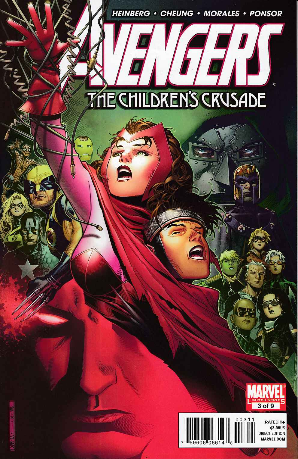 Avengers Childrens Crusade #3 Very Fine (8.0) [Marvel Comic] THUMBNAIL