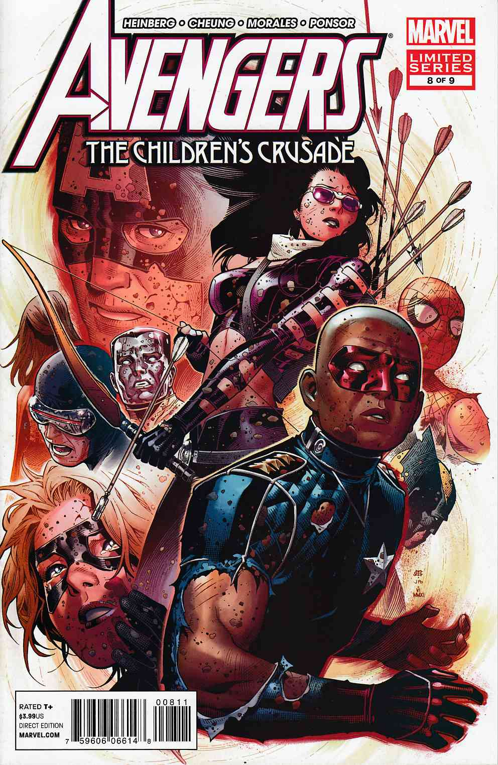 Avengers Childrens Crusade #8 Near Mint (9.4) [Marvel Comic] THUMBNAIL