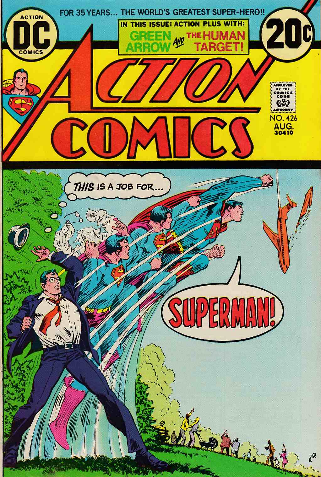Action Comics #426 Very Fine (8.0) [DC Comic]_LARGE