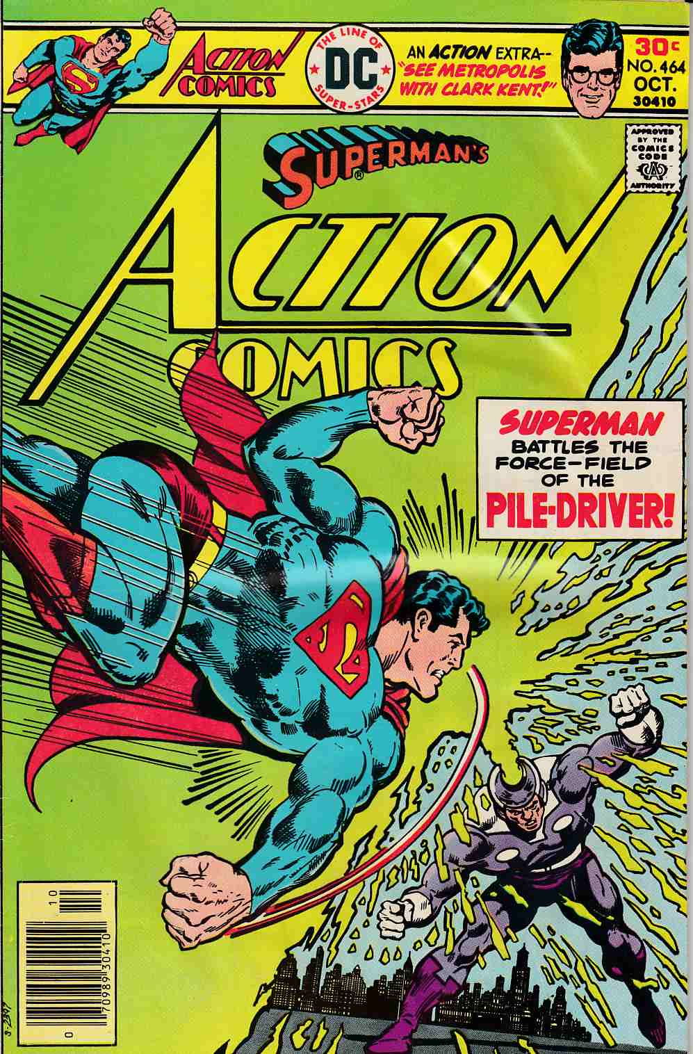 Action Comics #464 Good (2.0) [DC Comic] LARGE