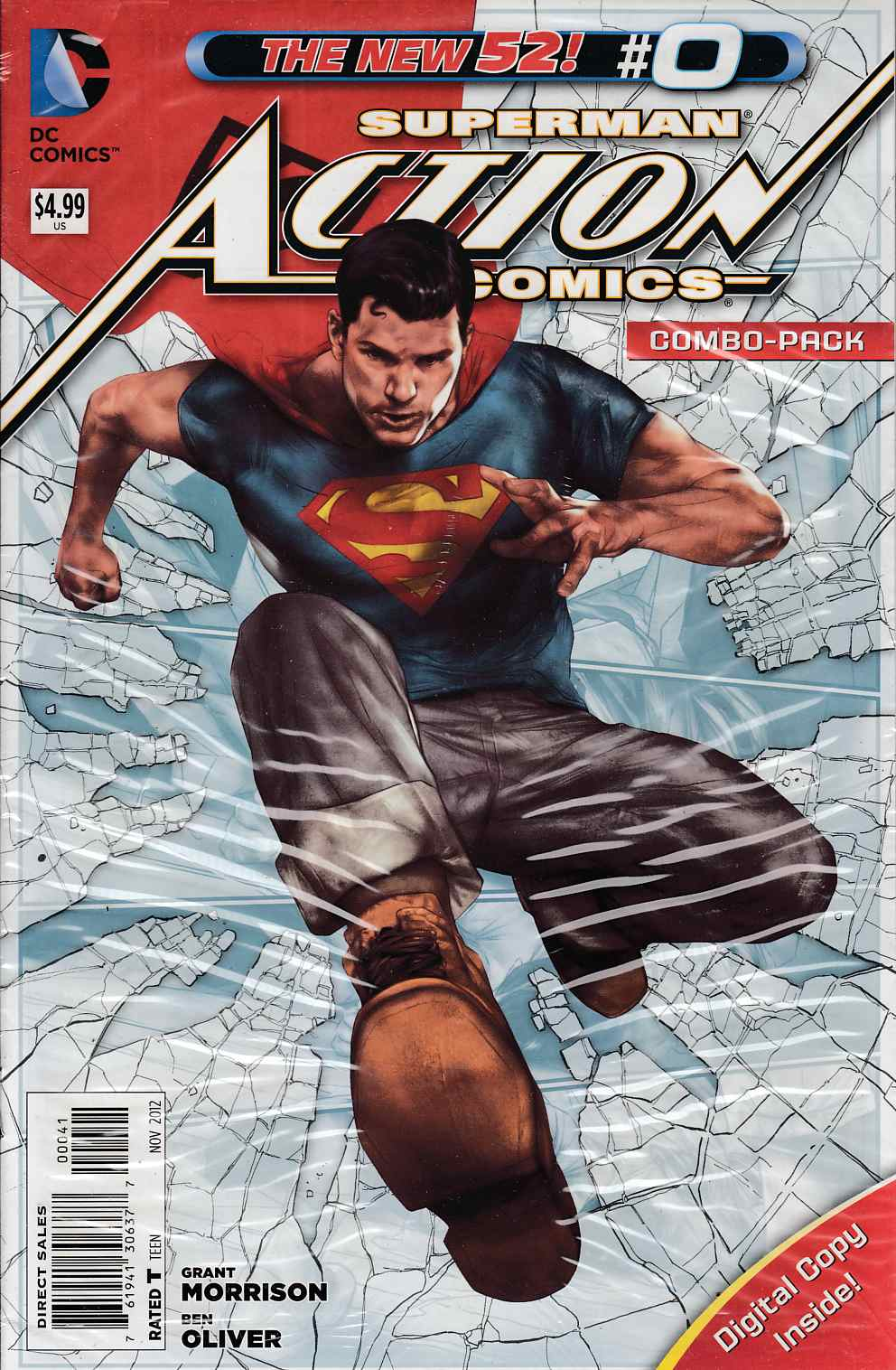 Action Comics #0 Combo Pack Very Fine (8.0) [DC Comic]_THUMBNAIL