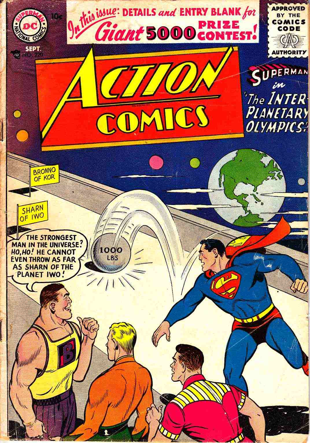 Action Comics #220 Good Plus (2.5) [DC Comic] THUMBNAIL