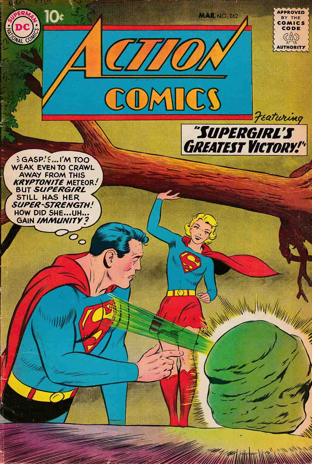 Action Comics #262 Very Good (4.0) [DC Comic] THUMBNAIL