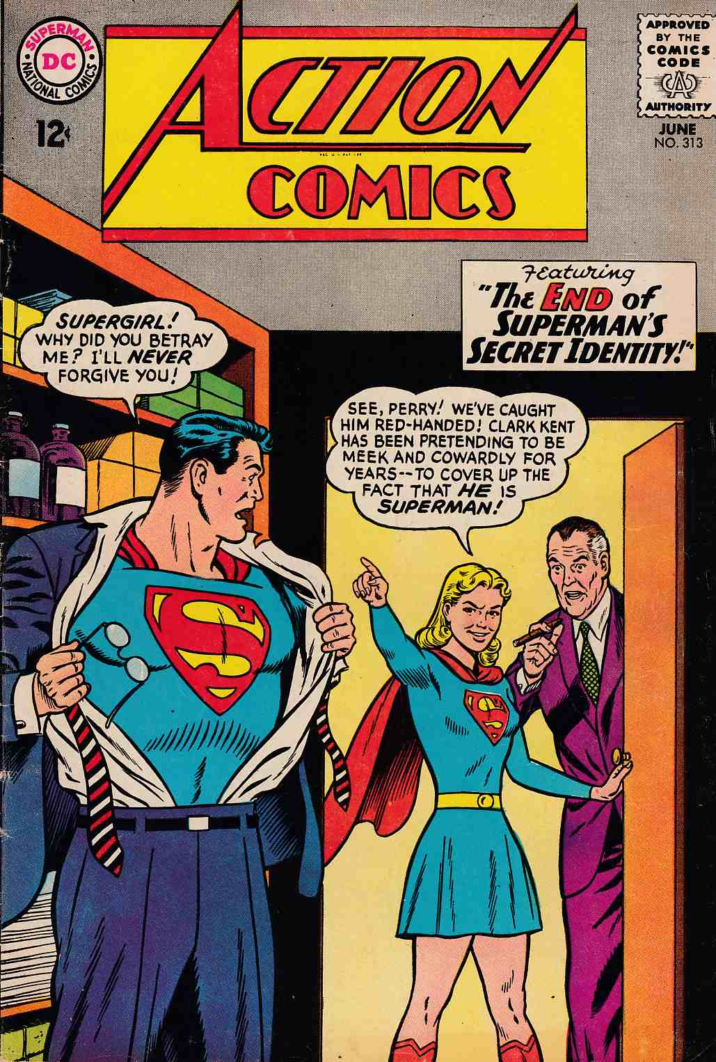 Action Comics #313 Very Good (4.0) [DC Comic] THUMBNAIL