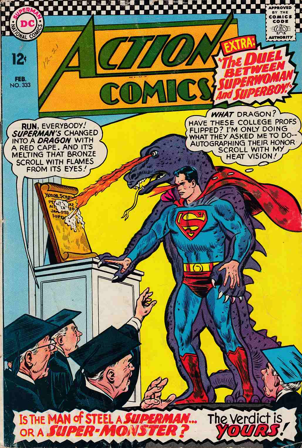 Action Comics #333 Good (2.0) [DC Comic] THUMBNAIL