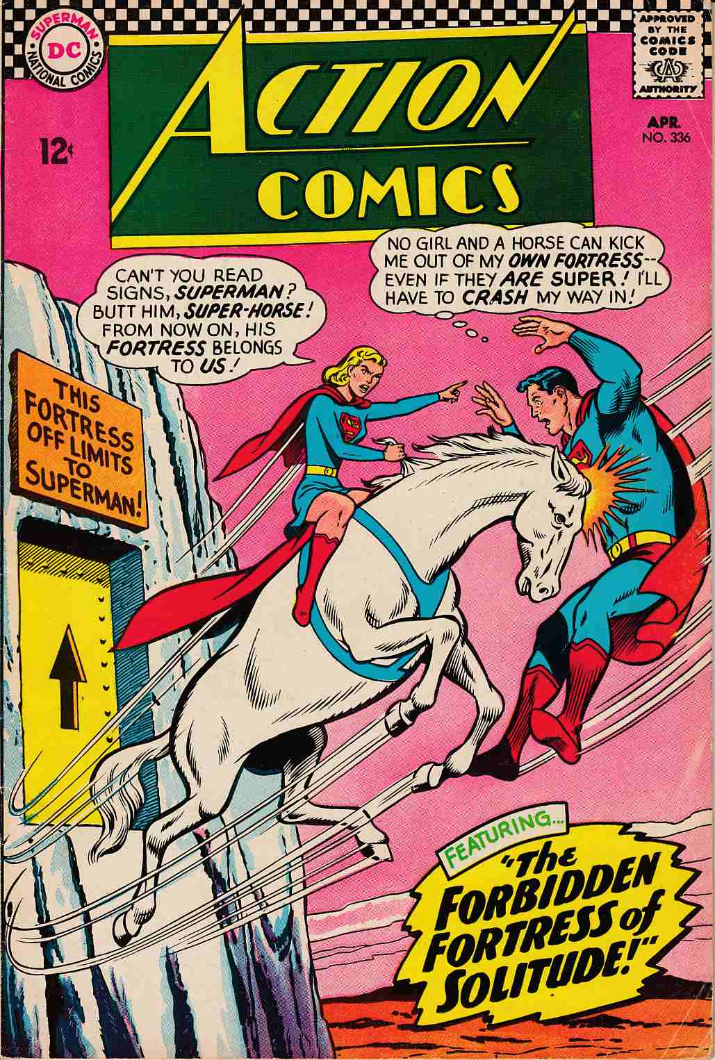 Action Comics #336 Fine Minus (5.5) [DC Comic] THUMBNAIL