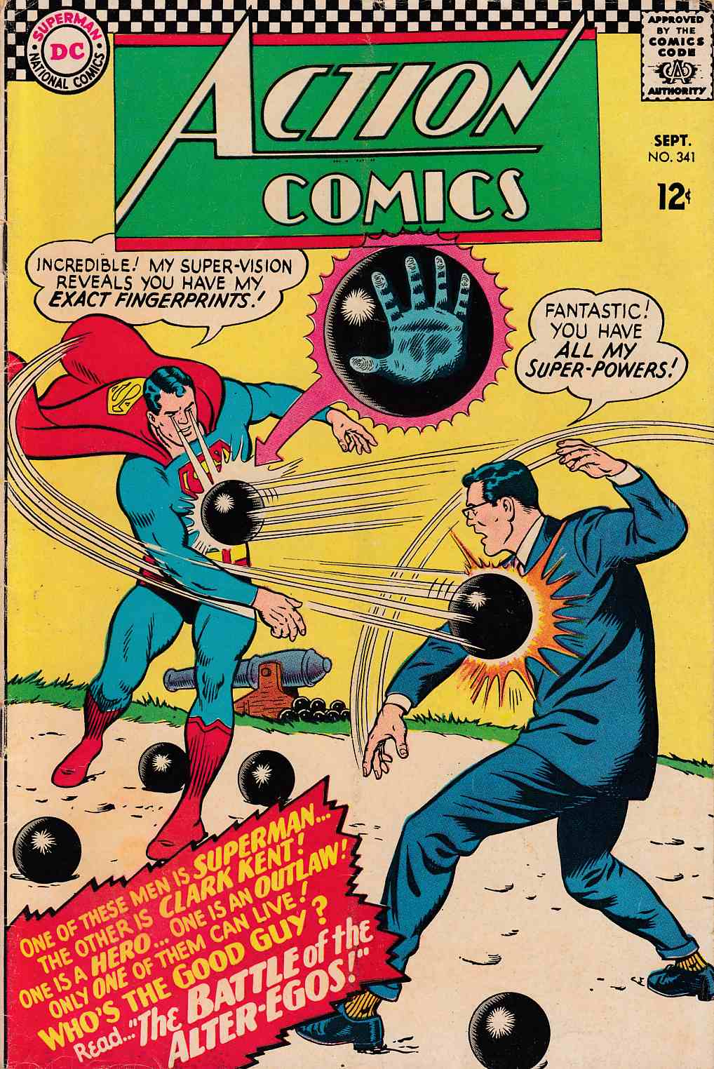 Action Comics #341 Very Good Plus (4.5) [DC Comic]