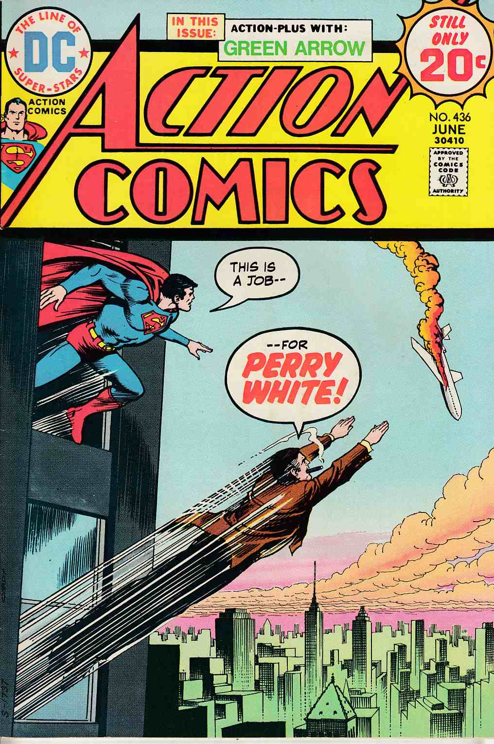 Action Comics #436 Very Fine Minus (7.5) [DC Comic] LARGE