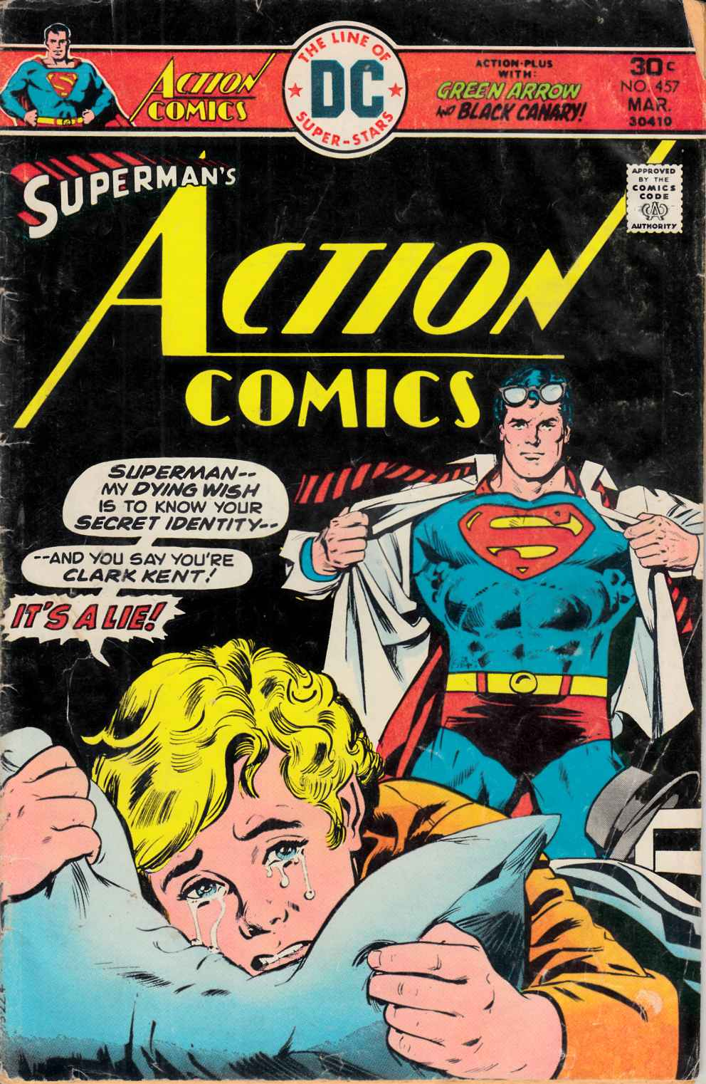 Action Comics #457 Good (2.0) [DC Comic] THUMBNAIL