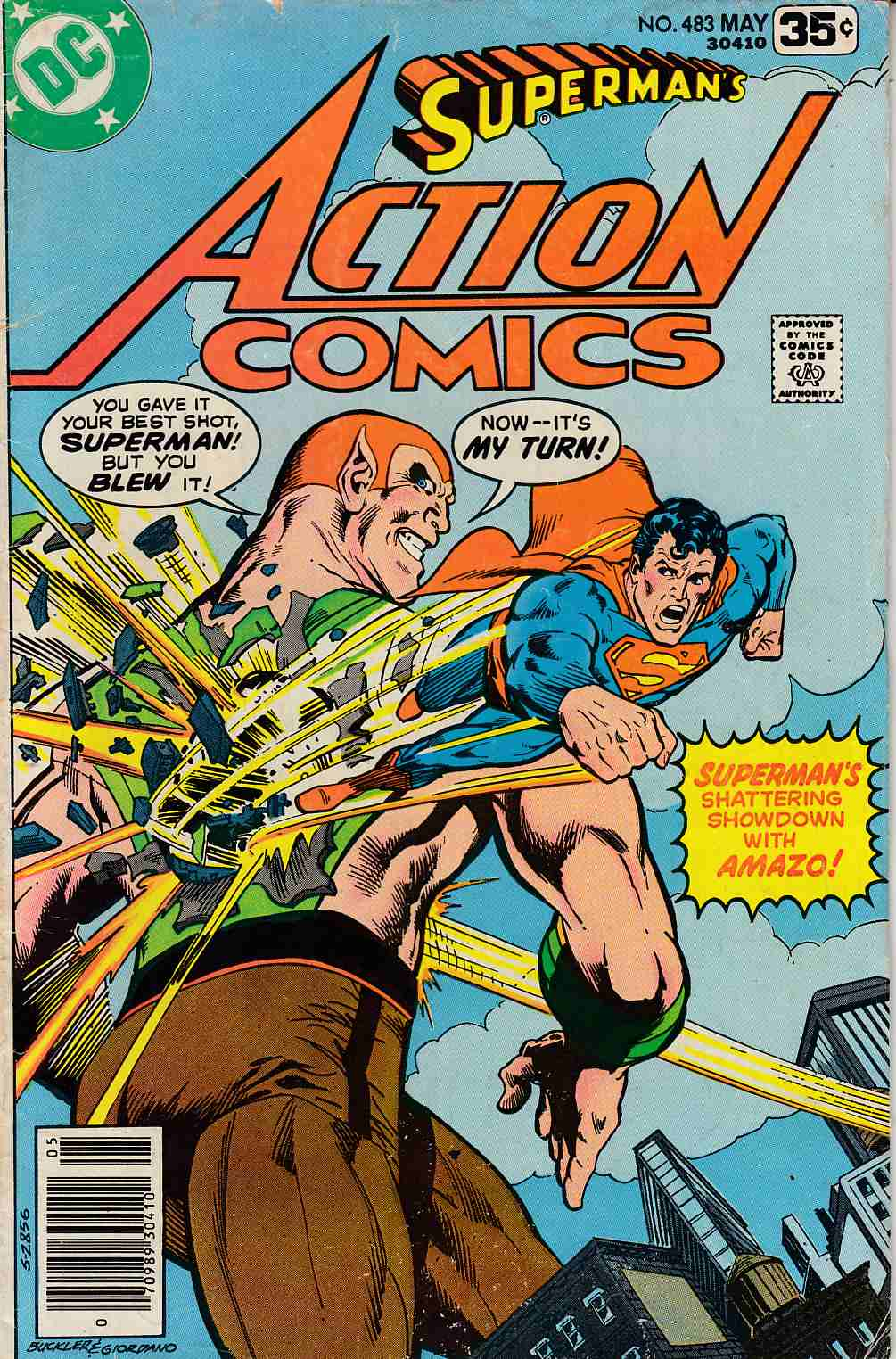 Action Comics #483 Good Plus (2.5) [DC Comic] LARGE
