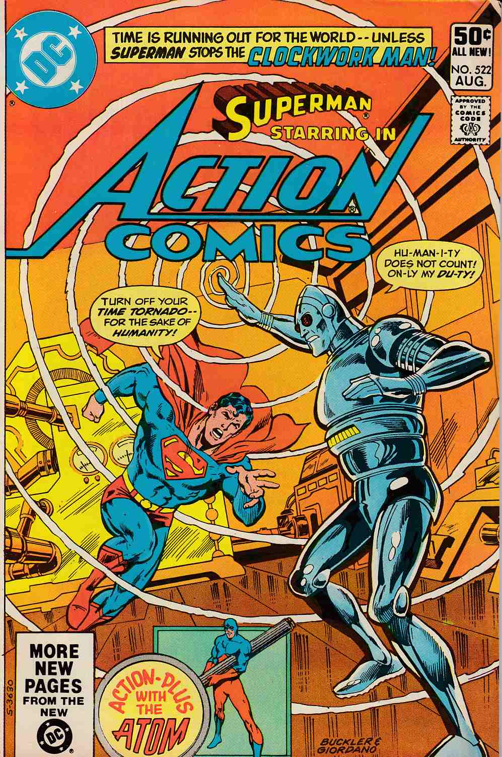 Action Comics #522 Fine (6.0) [DC Comic] LARGE
