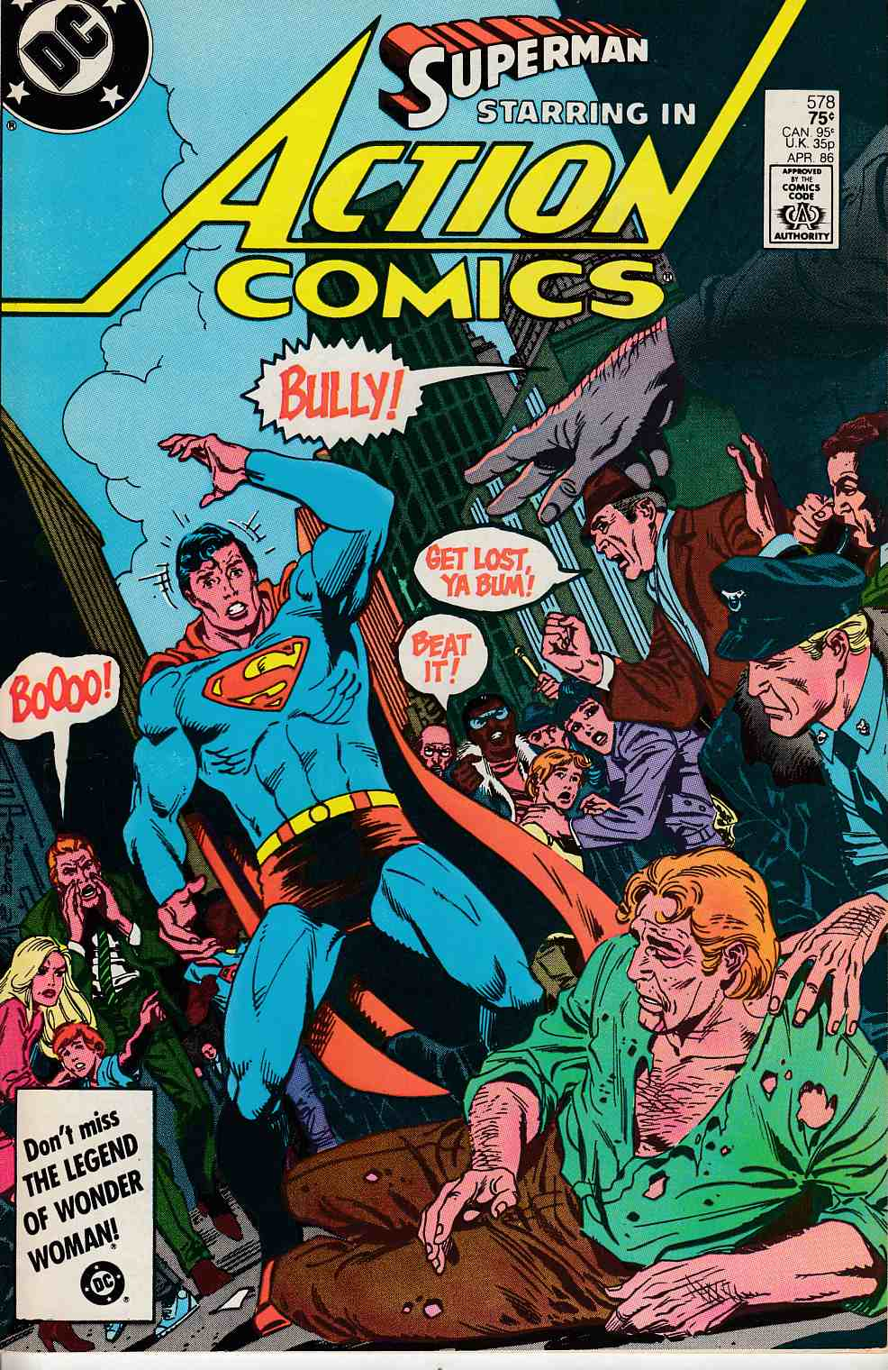 Action Comics #578 Very Fine (8.0) [DC Comic] LARGE