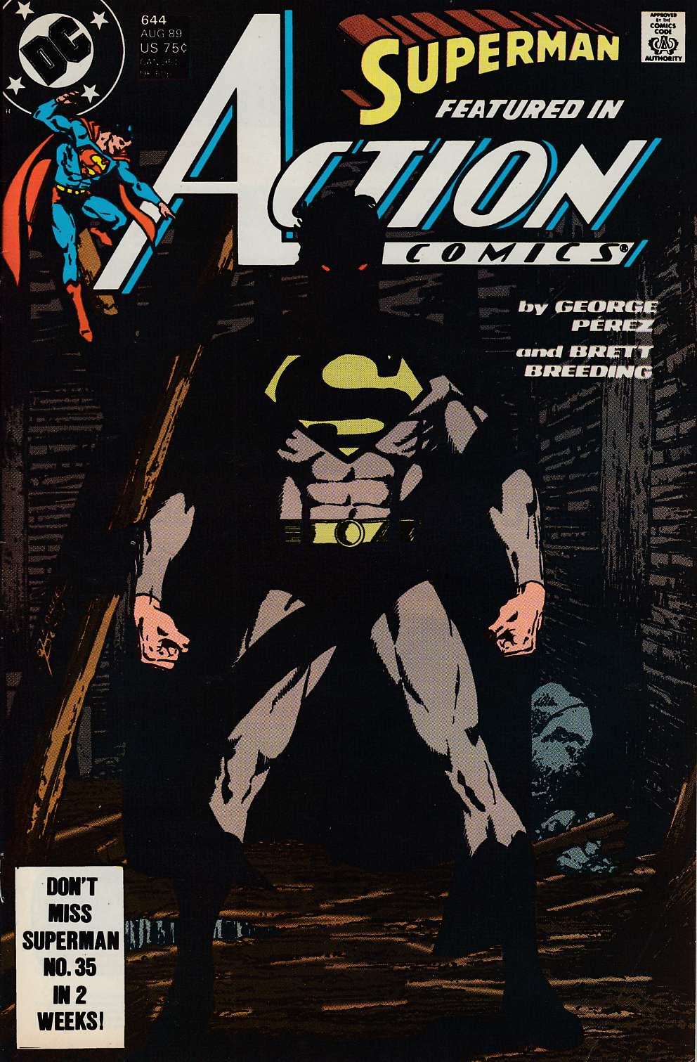 Action Comics #644 Fine (6.0) [DC Comic] LARGE