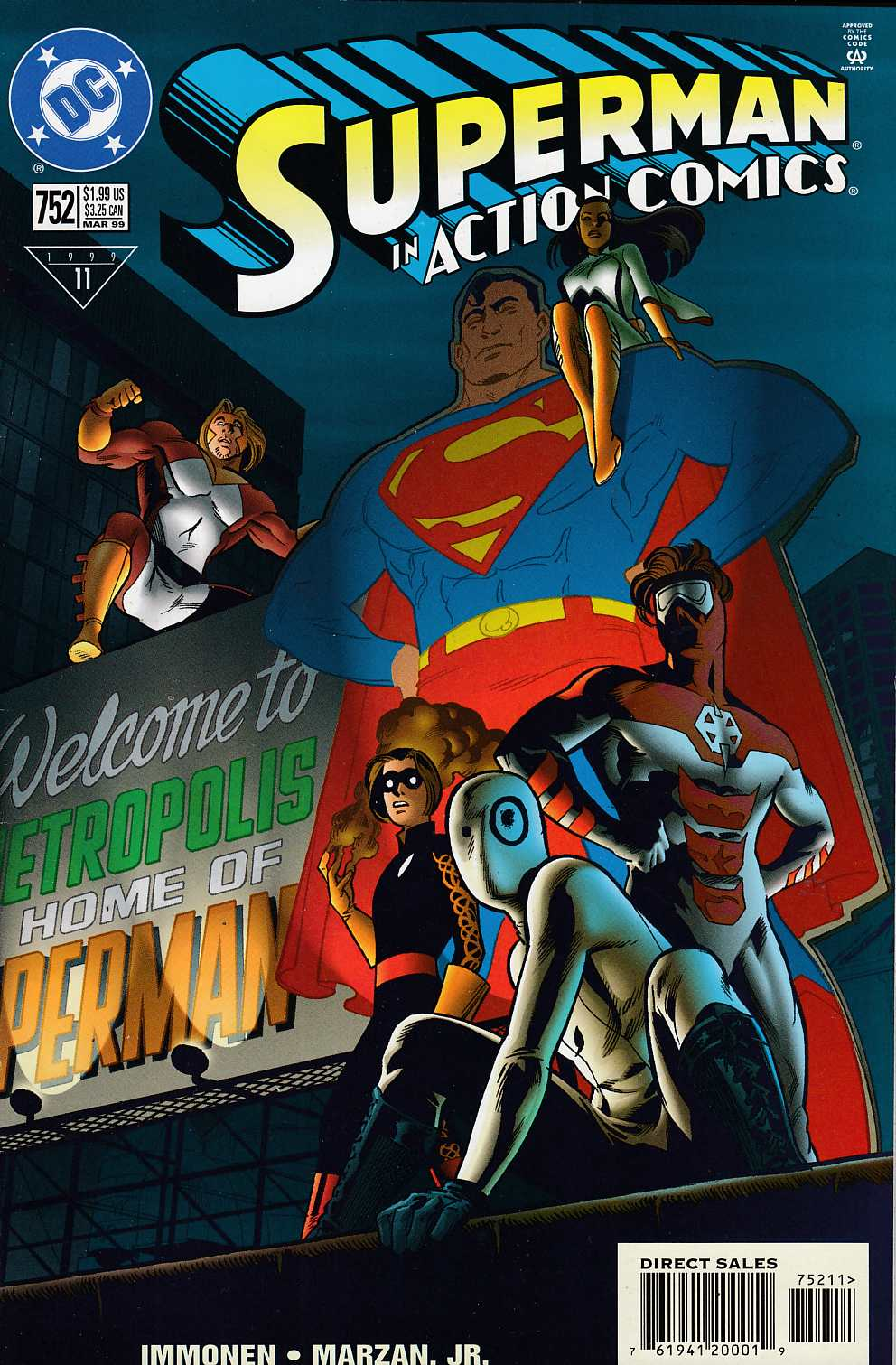 Action Comics #752 Very Fine (8.0) [DC Comic] LARGE