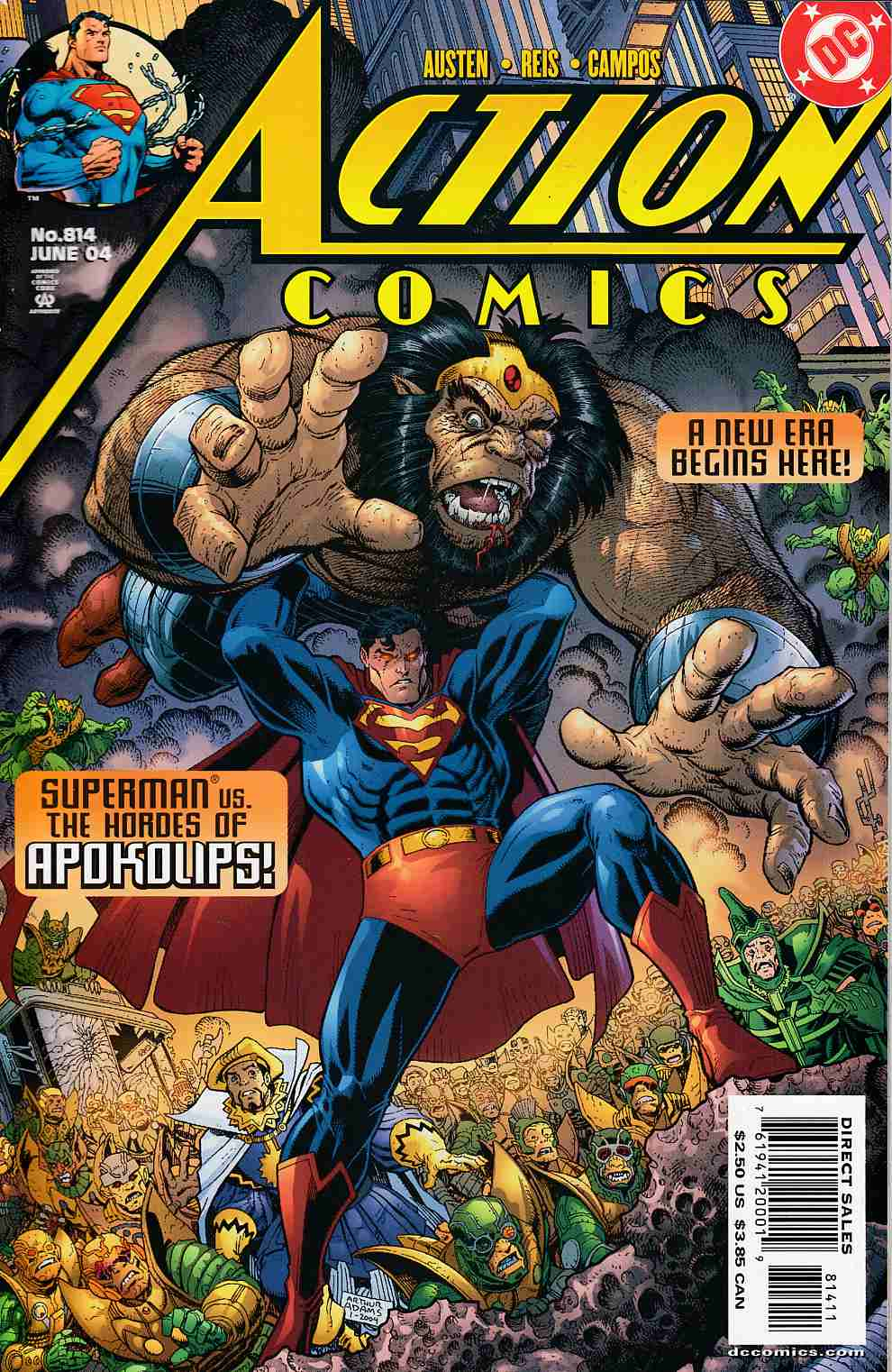 Action Comics #814 Very Fine (8.0) [DC Comic] LARGE