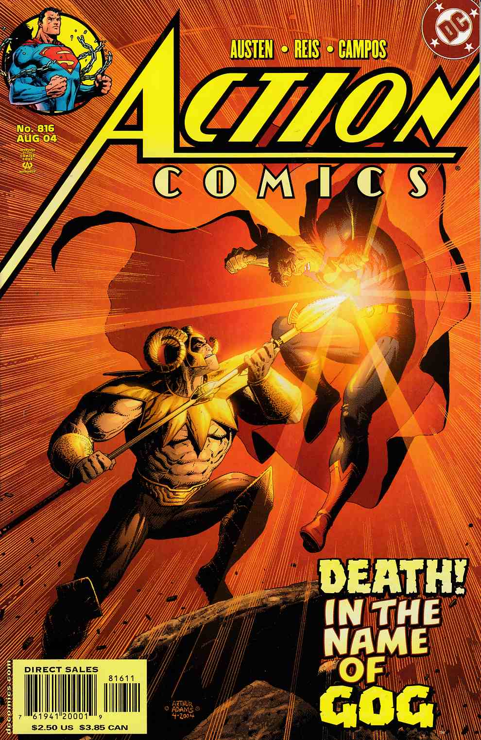 Action Comics #816 Very Fine (8.0) [DC Comic]