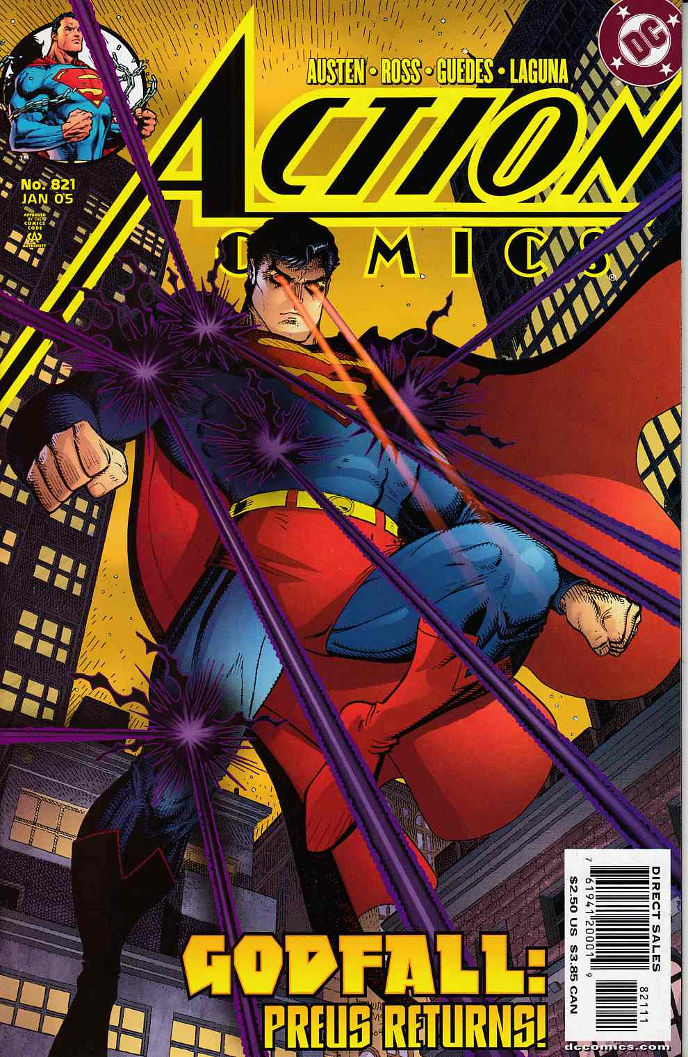 Action Comics #821 Near Mint (9.4) [DC Comic]_LARGE