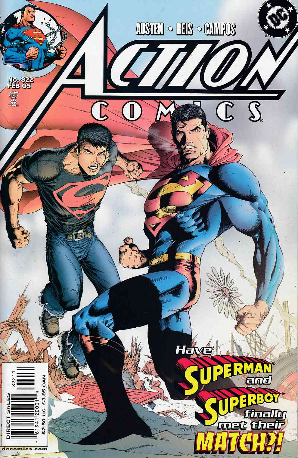 Action Comics #822 Near Mint (9.4) [DC Comic]