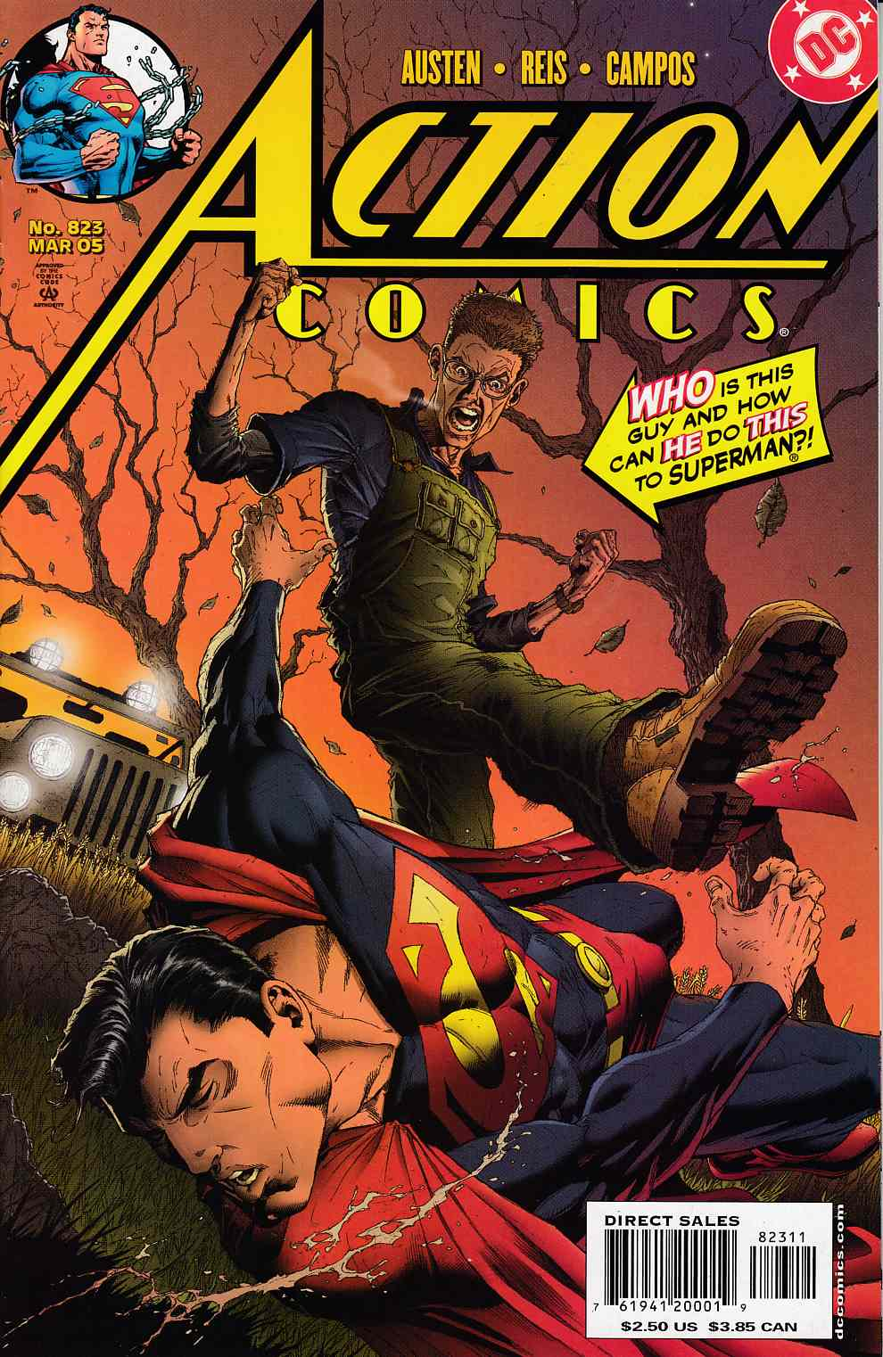 Action Comics #823 Very Fine (8.0) [DC Comic]