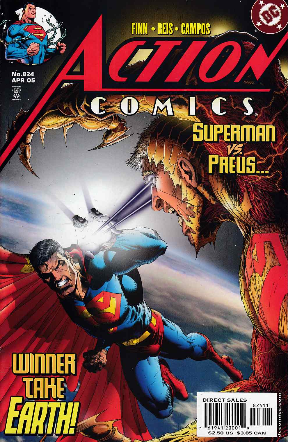 Action Comics #824 Very Fine (8.0) [DC Comic]