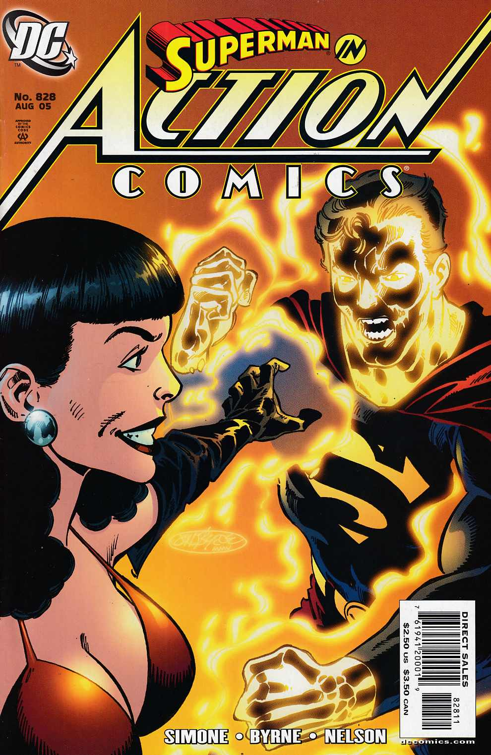 Action Comics #828 Near Mint (9.4) [DC Comic]_THUMBNAIL