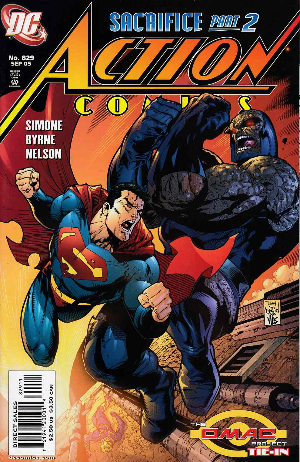 Action Comics #829 Near Mint (9.4) [DC Comic]