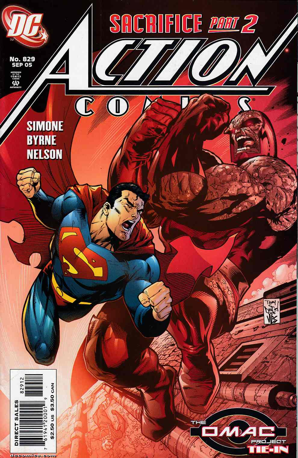 Action Comics #829 Second Printing Near Mint (9.4) [DC Comic]