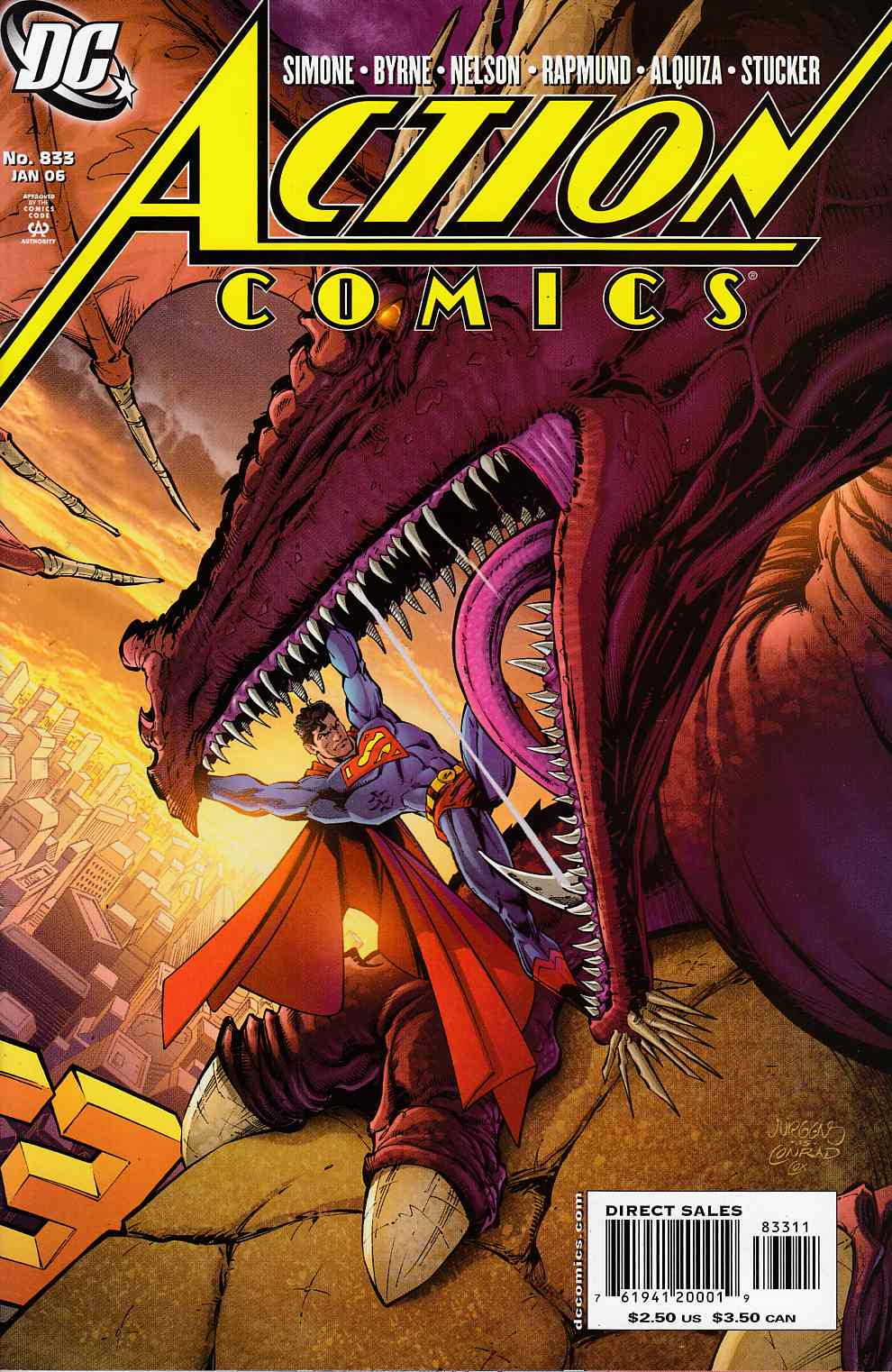 Action Comics #833 Near Mint (9.4) [DC Comic]