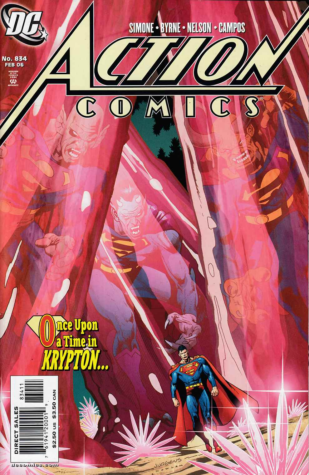 Action Comics #834 Near Mint (9.4) [DC Comic]