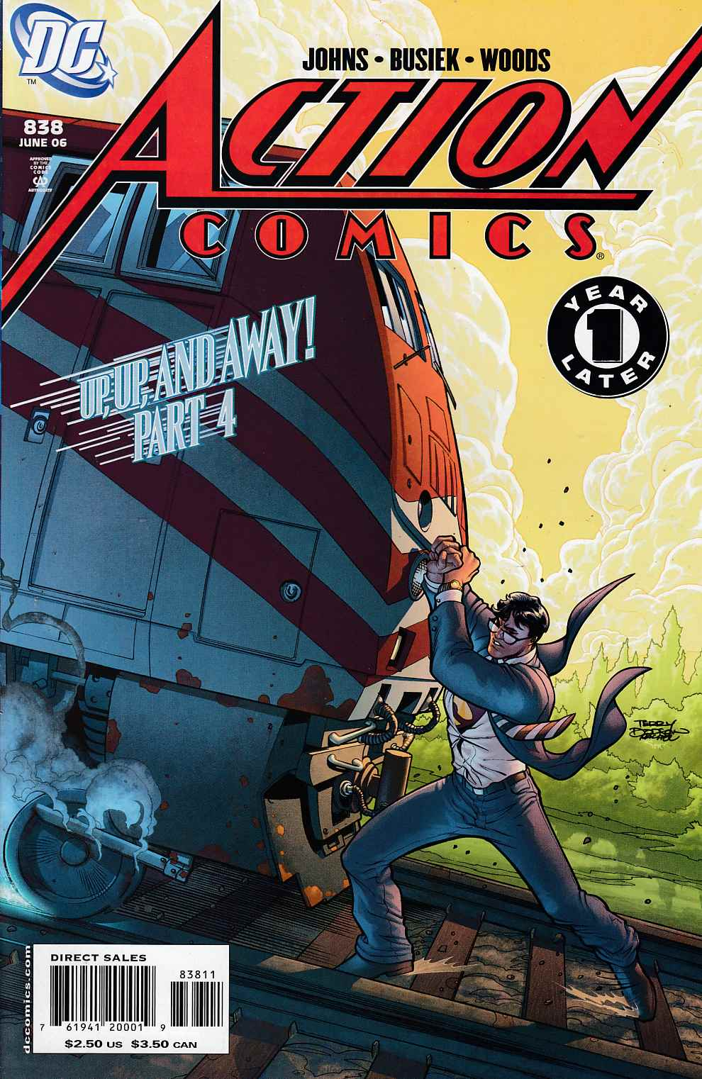 Action Comics #838 Near Mint (9.4) [DC Comic]