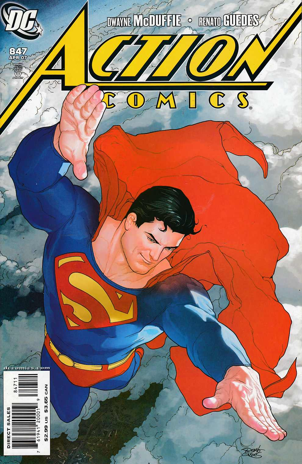 Action Comics #847 Near Mint (9.4) [DC Comic] LARGE