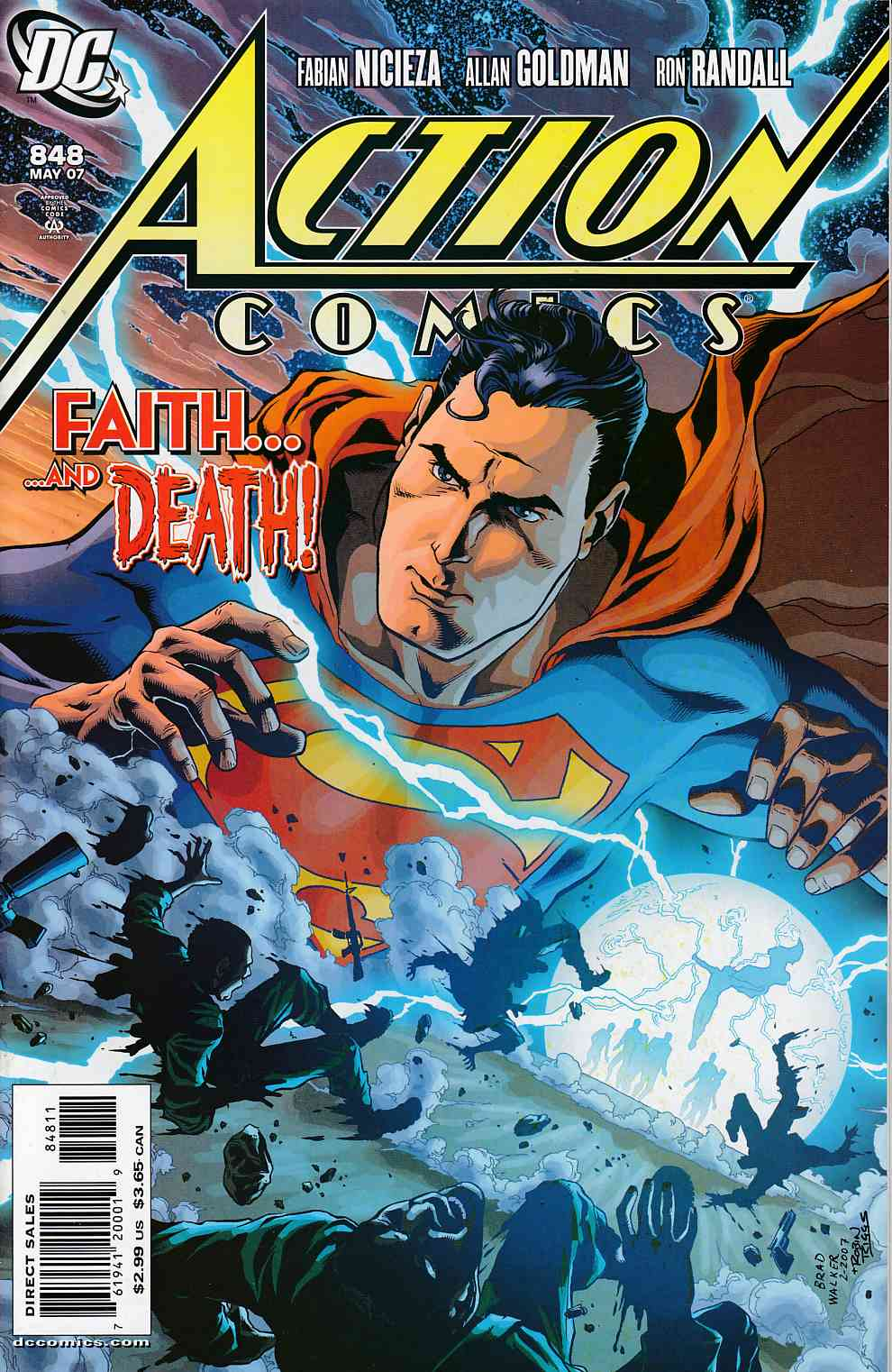 Action Comics #848 Near Mint (9.4) [DC Comic]_THUMBNAIL