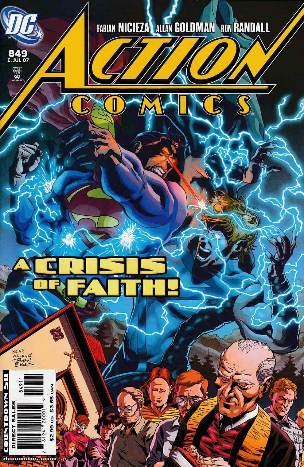 Action Comics #849 Near Mint (9.4) [DC Comic]_THUMBNAIL