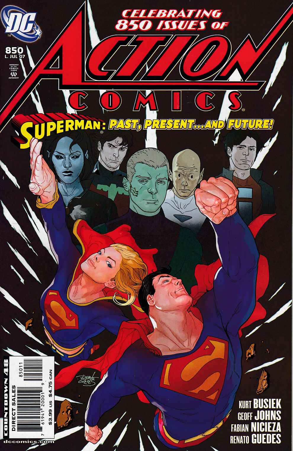 Action Comics #850 Very Fine (8.0) [DC Comic]_THUMBNAIL