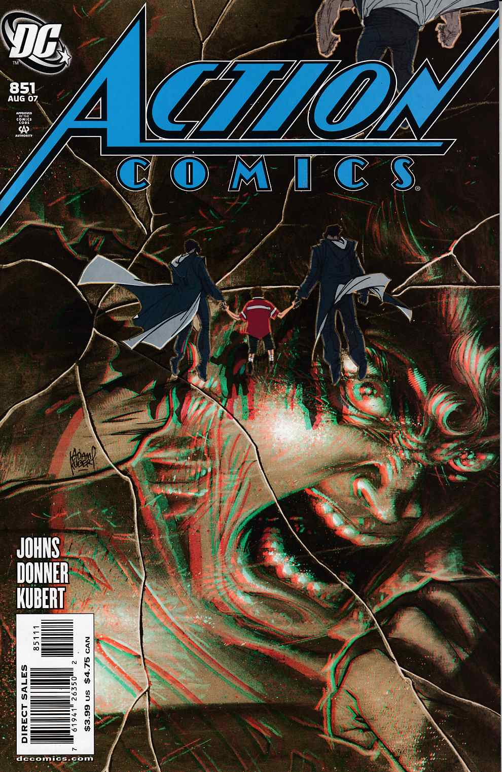 Action Comics #851 Cover B Near Mint (9.4) [DC Comic]_THUMBNAIL