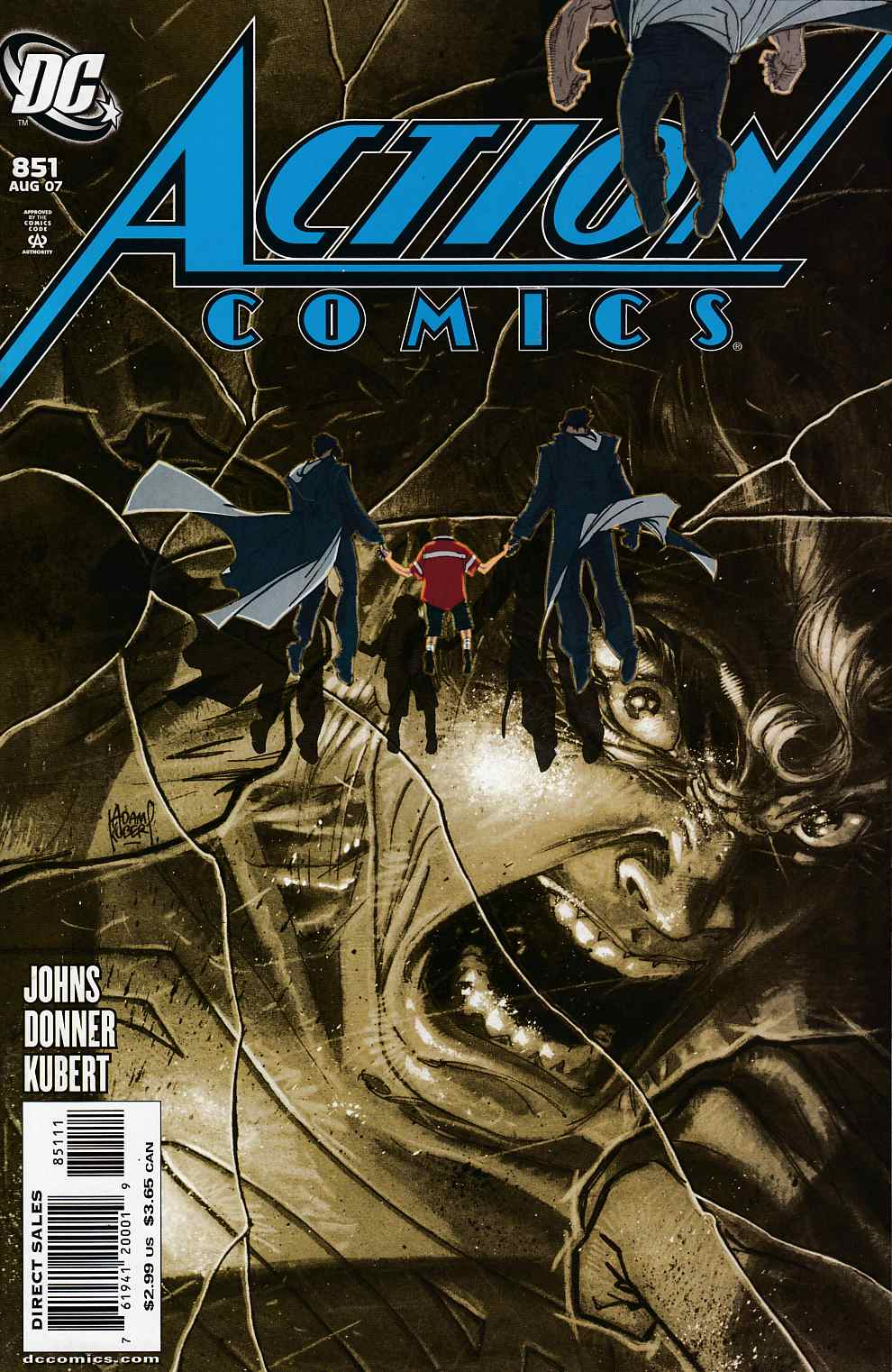Action Comics #851 Cover A Near Mint (9.4) [DC Comic]_THUMBNAIL