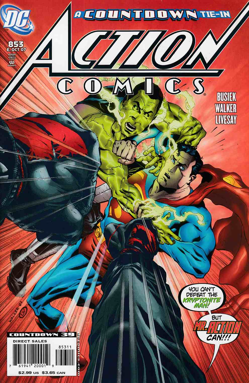 Action Comics #853 Very Fine (8.0) [DC Comic]_THUMBNAIL