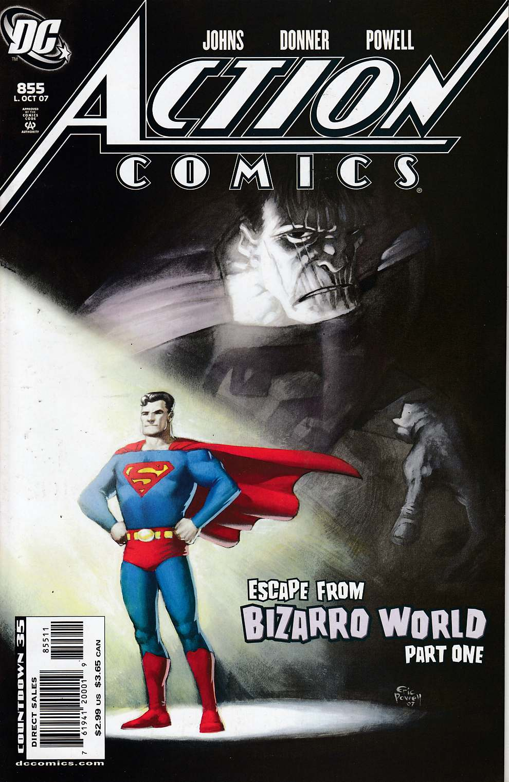 Action Comics #855 Near Mint (9.4) [DC Comic]_THUMBNAIL