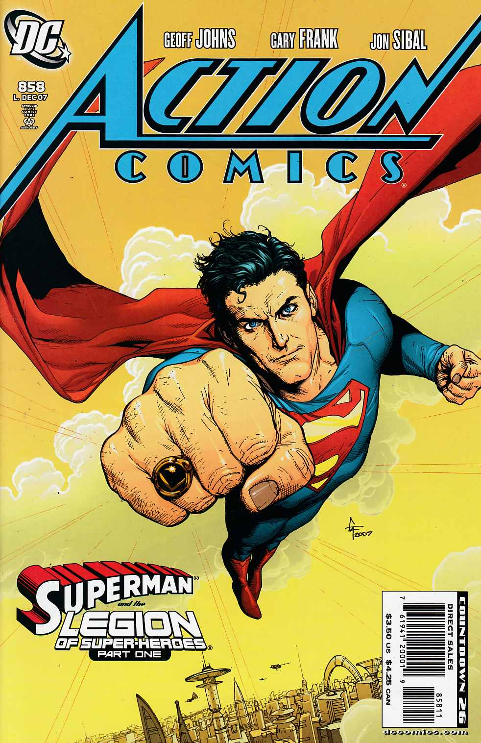 Action Comics #858 Near Mint (9.4) [DC Comic]_LARGE