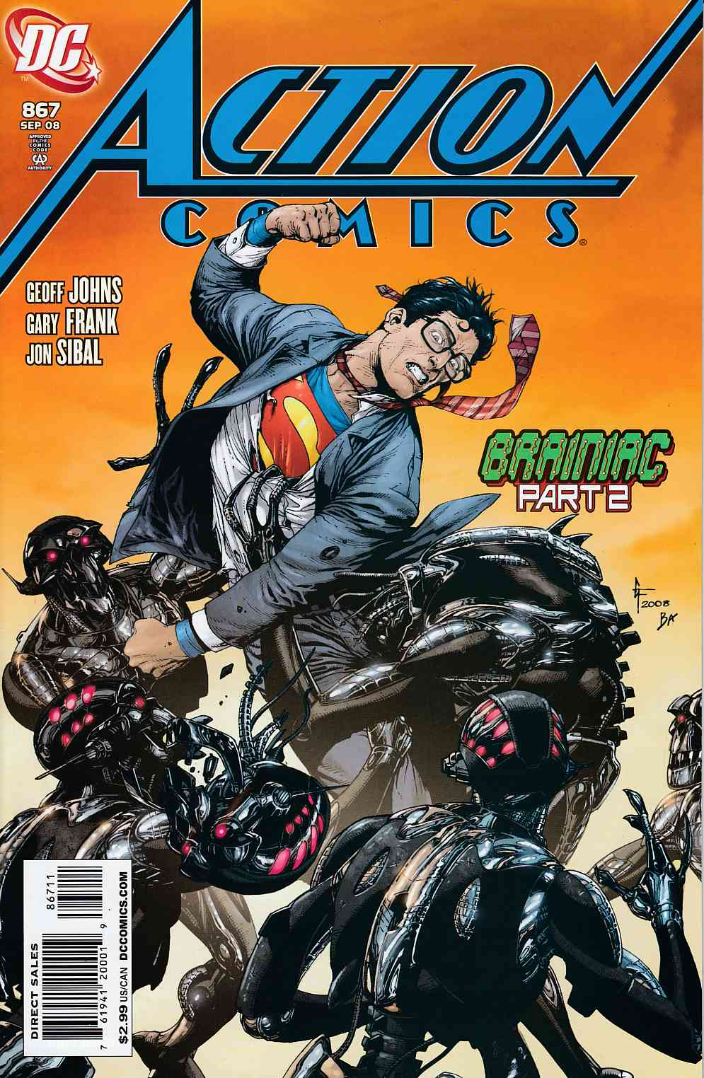 Action Comics #867 Near Mint (9.4) [DC Comic]_LARGE