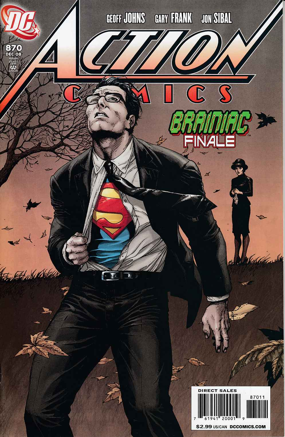 Action Comics #870 Near Mint (9.4) [DC Comic] LARGE