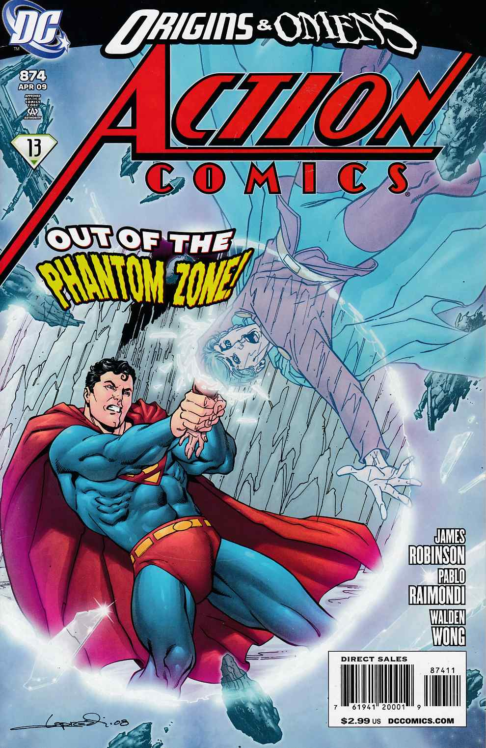Action Comics #874 Near Mint (9.4) [DC Comic]_THUMBNAIL