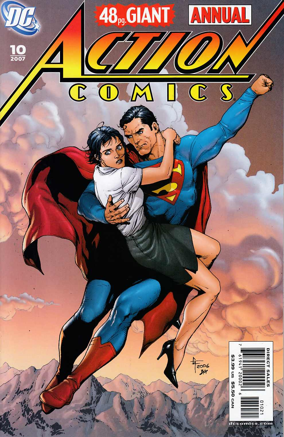 Action Comics Annual #10 Frank Variant Cover Near Mint (9.4) [DC Comic]_THUMBNAIL
