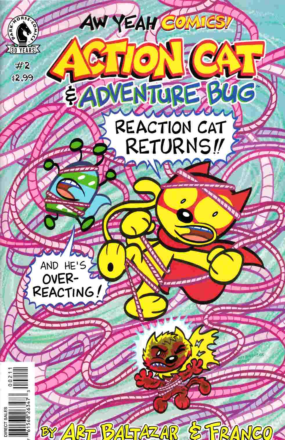 Aw Yeah Comics Action Cat and Adventure Bug #2 [Dark Horse Comic] THUMBNAIL