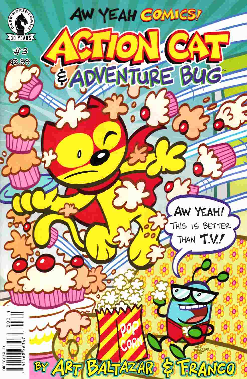 Aw Yeah Comics Action Cat and Adventure Bug #3 [Dark Horse Comic] THUMBNAIL