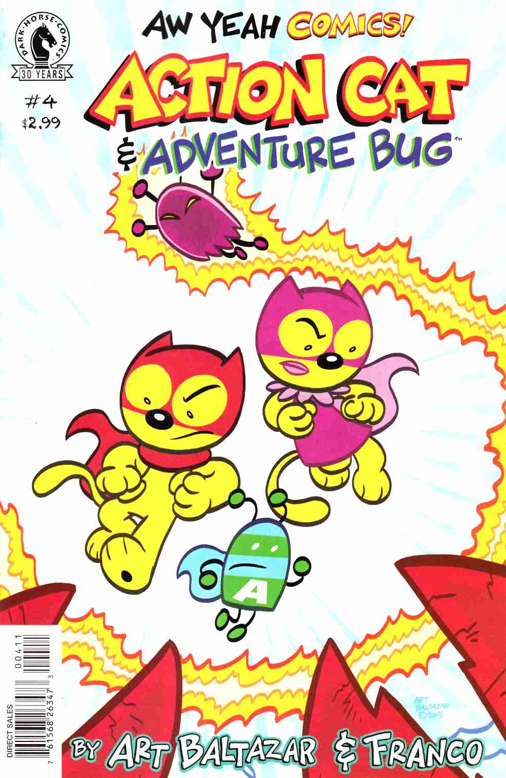 Aw Yeah Comics Action Cat and Adventure Bug #4 [Dark Horse Comic] THUMBNAIL